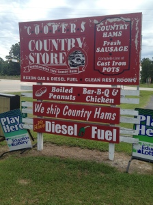 Cooper's: Old-time Country Store on the Way to the Beach!