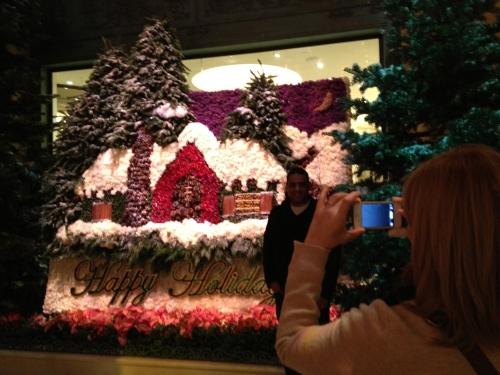 A very busy, very popular Happy Holidays backdrop