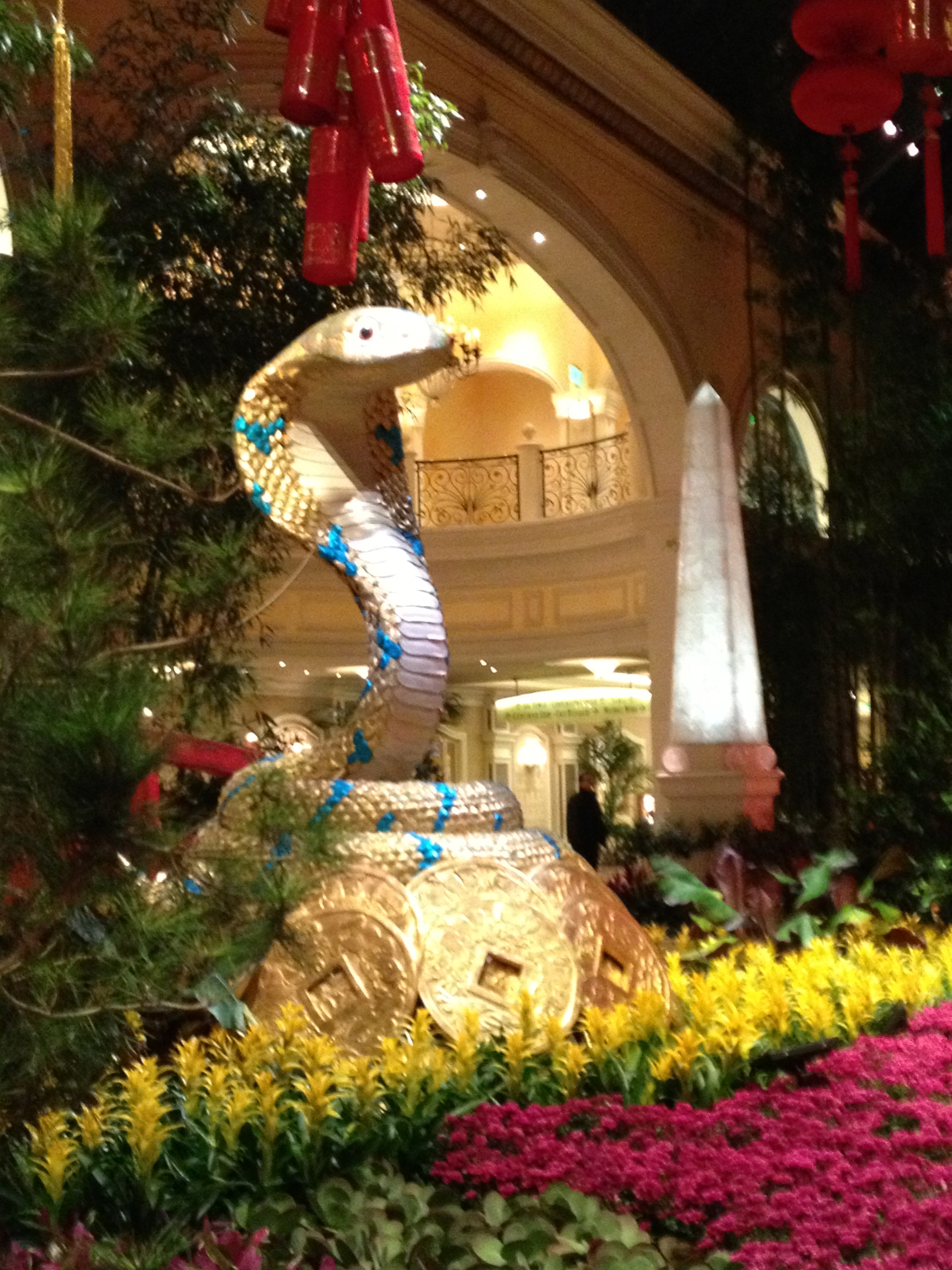 Bellagio\'s Conservatory and Botanical Gardens celebrate Chinese New ...