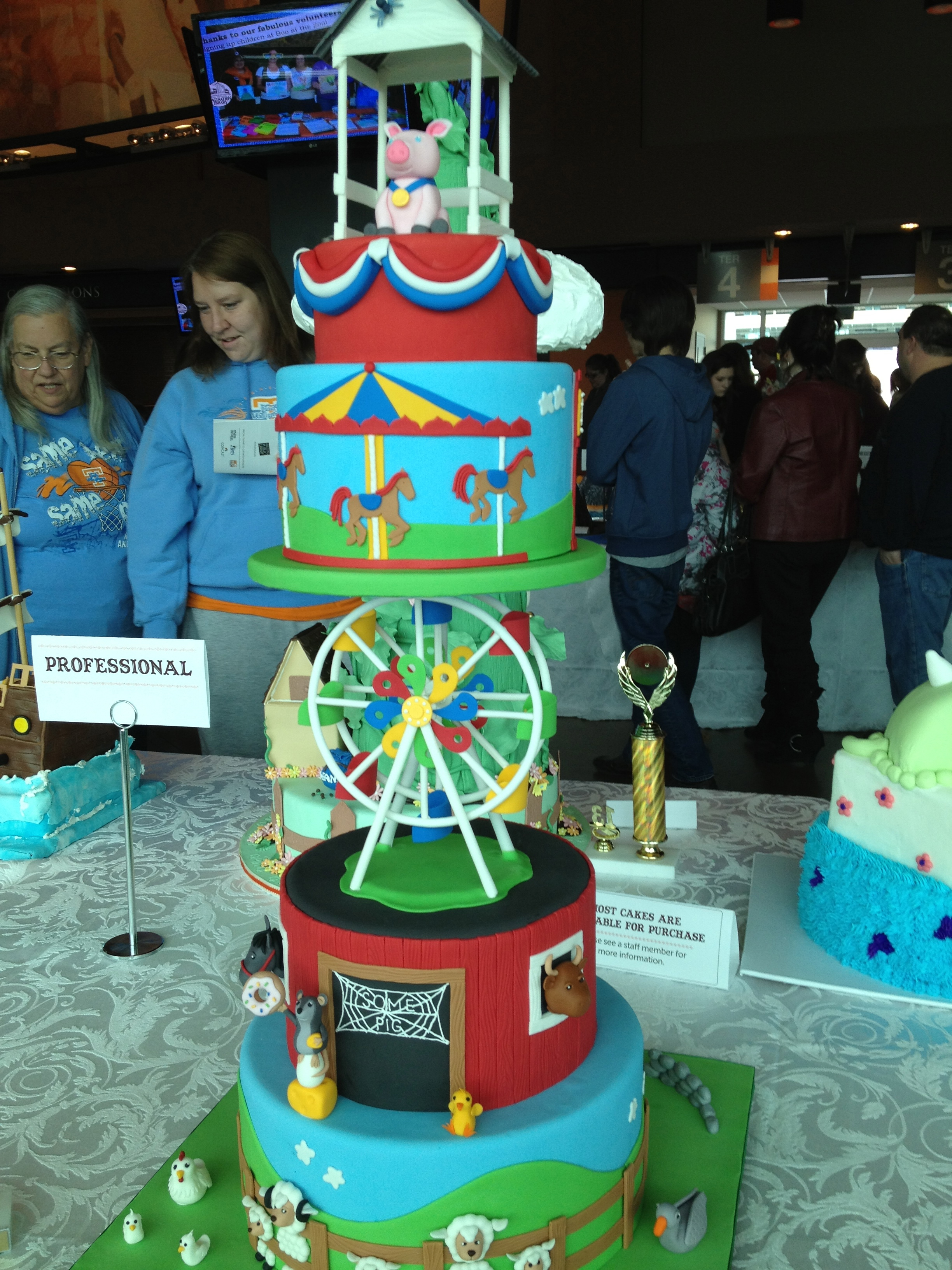 Books And Buttercream At The Great Cake Bake Oh The Places We See