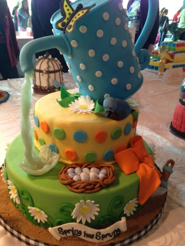 Whitney Roberson's teapot cake