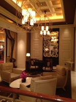 Elegant seating area in Wynn Las Vegas