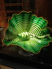 Chihuly glass in Bellagio