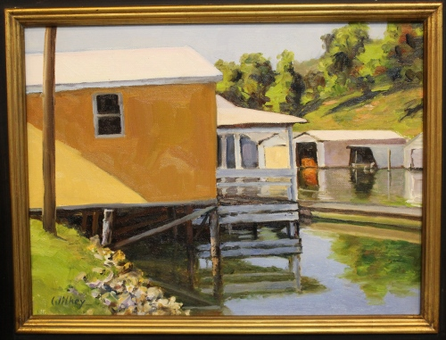 """Duncan Boat Dock"" by Janis Wilkey"