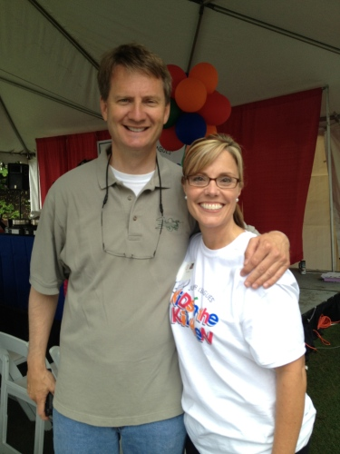 Mayor Tim Burchett and Tracy Morrow
