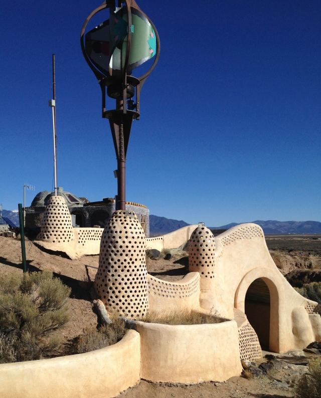 Otherworldly Earthship