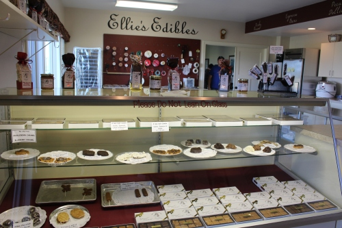 Ellie's kitchen in Green Bluff where fine caramels are created every day