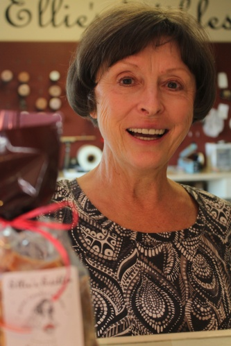 Meet Ellie, owner, picker, and cooker of the finest caramels anywhere!
