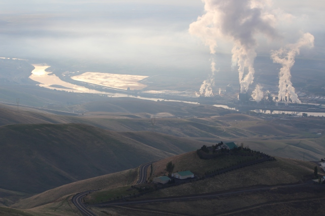 View from Lewiston Hill in Lewiston ID.