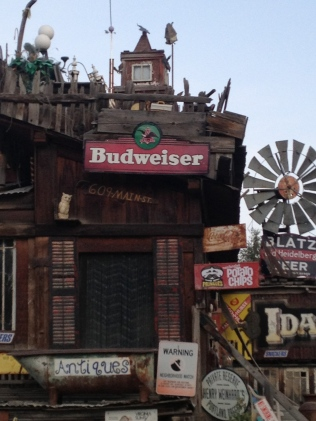 Budweiser sign, Idaho City