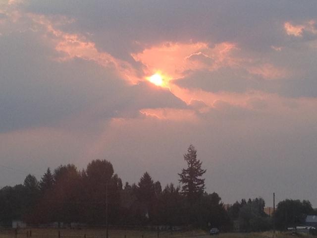 sunrise at The Palouse