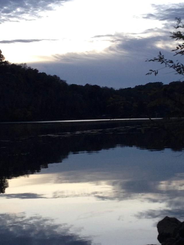 October sky Sequoyah Hills
