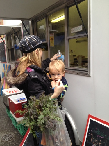 Just about everyone loves the new food trucks on Union Avenue on Saturday mornings!