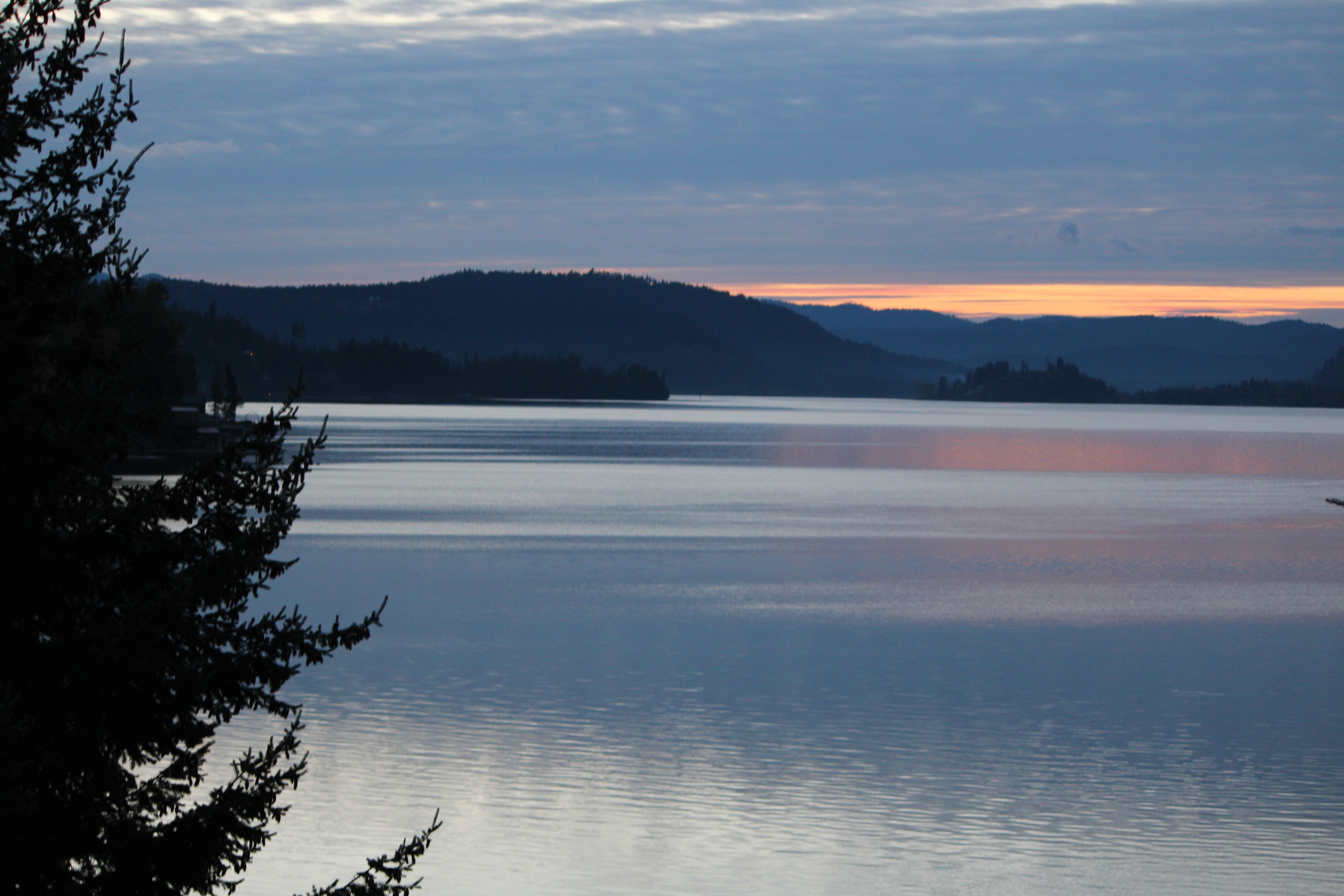 Stunning Sunsets From The Lodge At Sandpoint Oh The