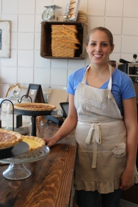 As busy as they were, Store Manager Morgan welcomed us in to see the new place: Buttermilk Sky Pie Shop