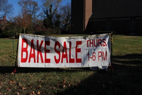 Cook 'em, wrap 'em, tag 'em:  Church Bake Sale!