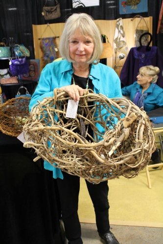 Beryl Lumpkin, Basketry