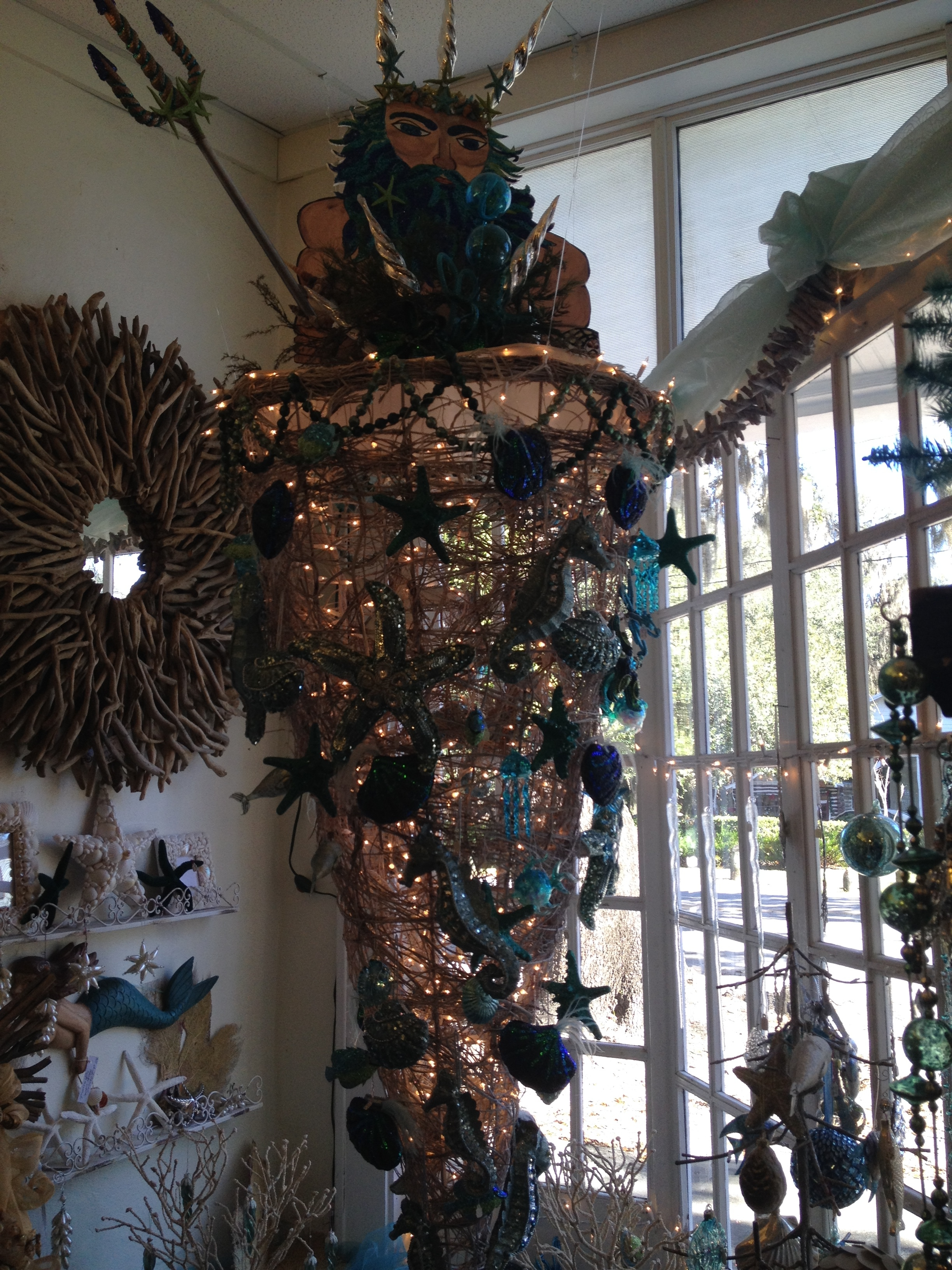 Fab Christmas At The Shop In Micanopy But Oh My Who