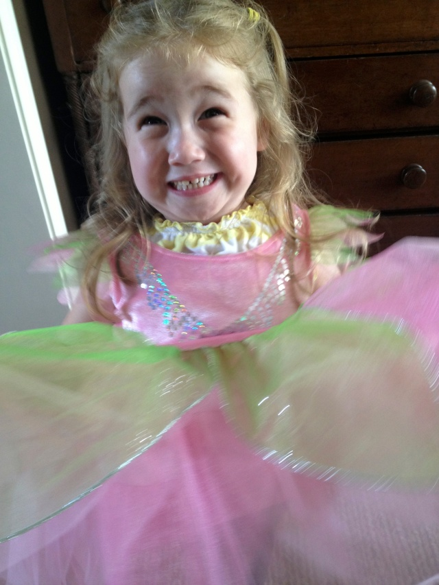 Grandchild as Ballerina