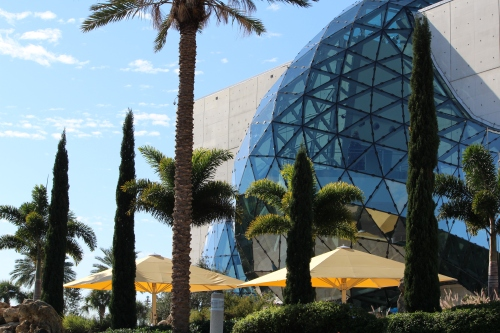"""The """"eclipse"""" at the Dali Museum, St. Petersburg, FL"""