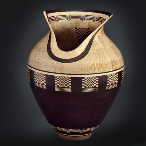 Vase by Marilyn Endres.  Photo from Florida Craftsmen website.