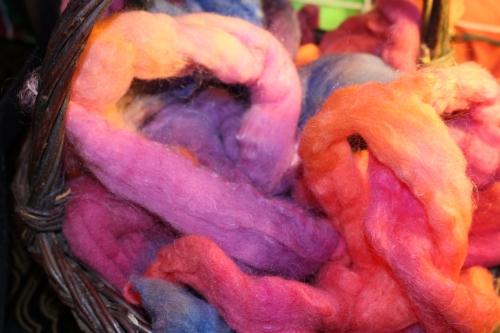 So soft -- merino wool rovings