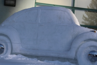 VW Bug, Side View