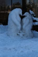 Penguin Family, McCall's Winter Carnival