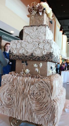 Tammy Owenby, 1st Place Wedding Cake