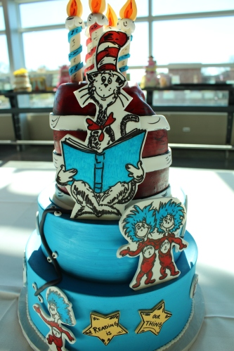 """Detailed storybook characters populate the entry """"Dr. Seuss"""" by Maria Pannala"""