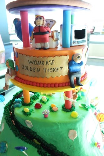 We loved the characters on this Wonka cake by Whitney Roberson who was awarded 3rd Place in the Beginner Division for All-Occasion Fondant.