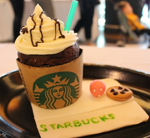 """Hannah Southall's entry entitled """"Starbucks"""""""