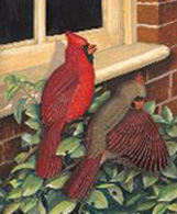 Bird print, Kentucky Cardinal, by Dr. Earl Henry, Sr.