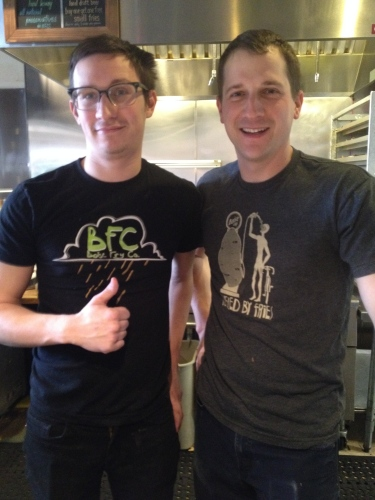 Taylor and Zach -- Boise Fry Company