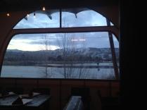 View from windows: Barbacoa