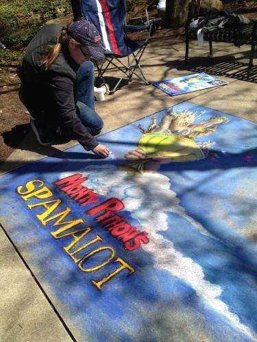 Spamalot, Chalk Walk 2014