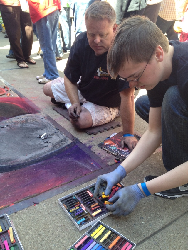 Chalk Walk: color selection