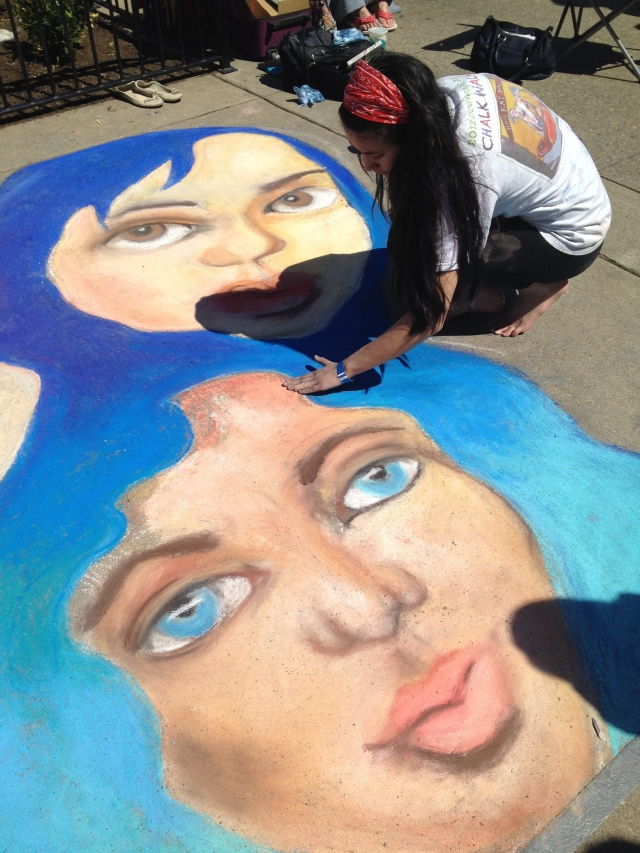 Chalk Walk: Summer Meiling finn