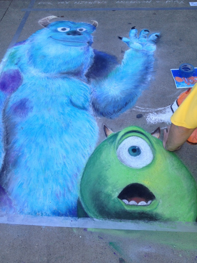 Chalk Walk: Curtis Glover's entry