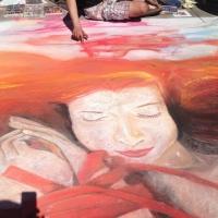 Chalk one up for fun: Dogwoods Arts 2014 -- Chalk Walk