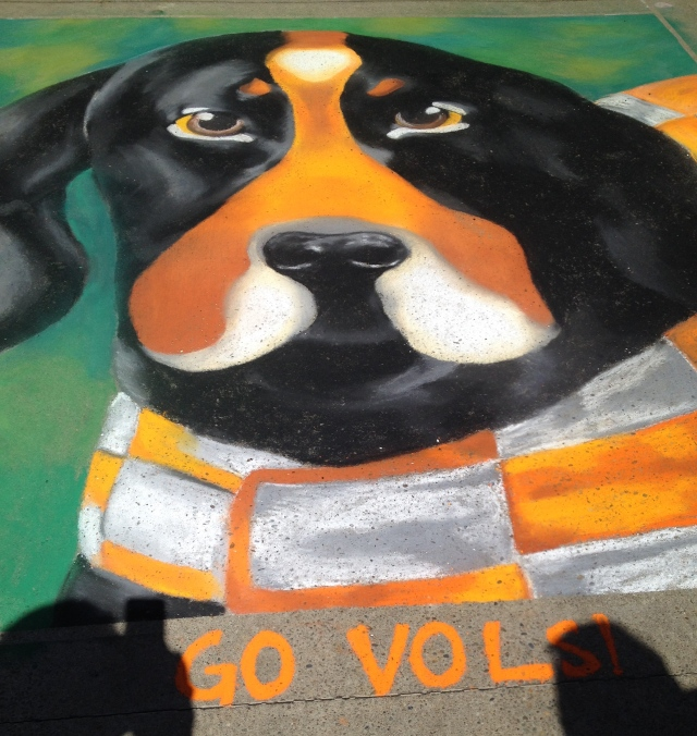 Chalk Walk: Smokey