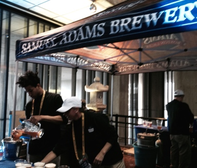 Sam Adams -- sponsor of Pre-race Pasta Dinner