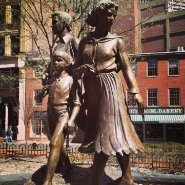 Irish Famine Memorial, Boston