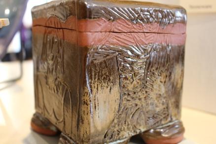 """Liz Howell: """"Beaded Box"""""""