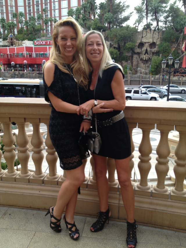 Two ladies in Las Vegas