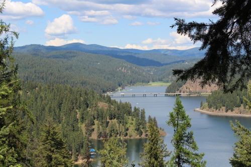Lake Coeur d'Alene scenic byway
