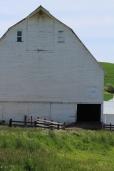 White barn on the Palouse