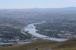 View from Lewiston Hill