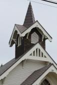 Church steeple on the Palouse