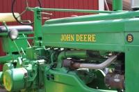 John Deere tractor -- Green Bluff
